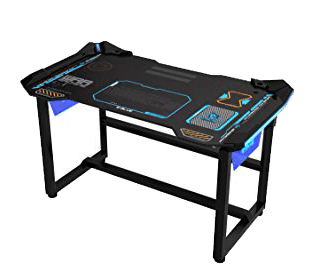 Wireless Glowing LED Gaming Desk