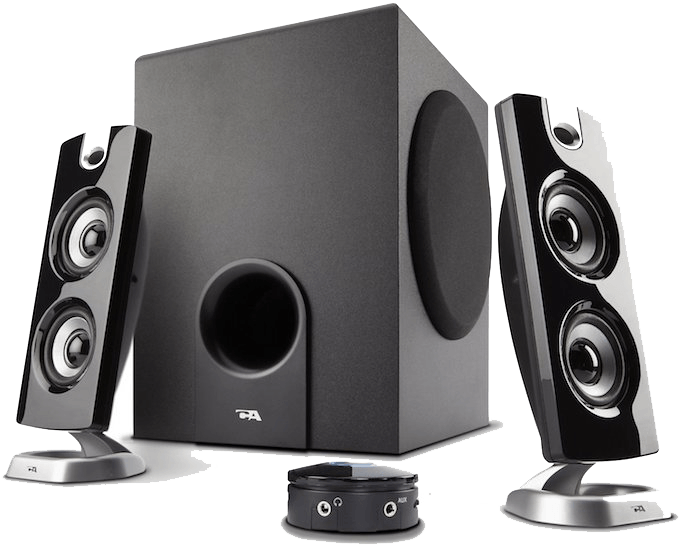 Cyber Acoustics CA-5402 Platinum Series 5.1 Speakers