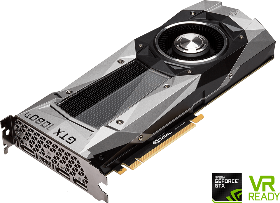 MSI - GeForce GTX 1080 8GB Founders Edition Graphics Card