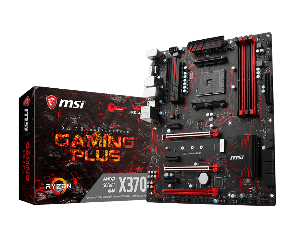 MSI - X370 Gaming Plus ATX AM4 Motherboard