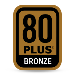 80+ bronze power supply rating